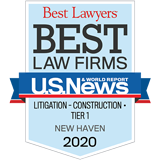 Best Law Firm, Litigation, Construction, 2020
